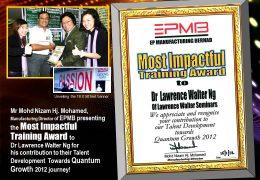 EPMB Manufacturing