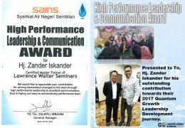 Leadership & Communication Award