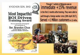 Most Impactful ROI Driven Training Award