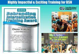 Rebranding Internalization Training Award