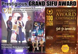 DDrLW – Grand Sifu Award