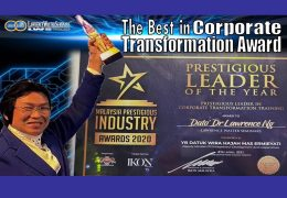 DDrLW – The Best in Corporate Transformation Award