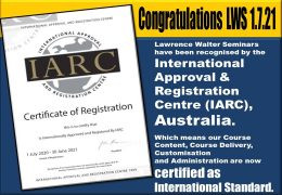 International Approval & Registration Centre, Australia